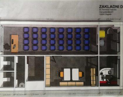 Podržite nas - kupnja prostora za djelovanje ZMR i Zaklade dr. Tomislav Ivančić